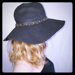 Wide Brim Floppy Woven Summer Sun Hat Day to Night